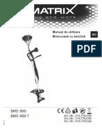 Motocoasa Benzina - Manual de Utilizare