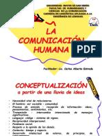 La Comunicación Humana. 2016