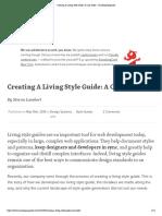 Creating A Living Style Guide_ A Case Study – Smashing Magazine.pdf