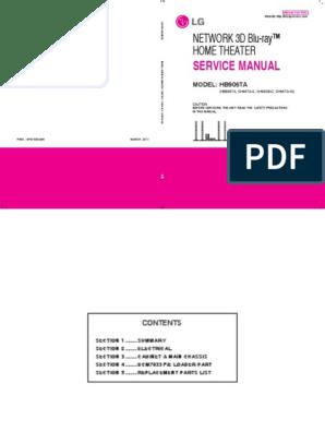 LG HB906TA pdf | Hdmi | Television