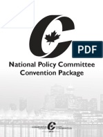 2016 Conservative Policy Resolutions