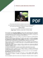 L'Etica di Morin a Milano- Riflessioni a cavallo della Rete e di Second Life