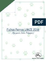 Fichas Perros 2016