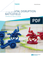2015 Oliver Wyman the Digital Disruption Battlefield