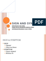 Sign and Symptoms 1