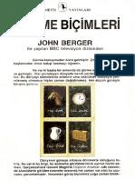 John Berger - Görme Biçimleri
