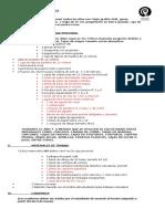 LISTA DE ÚTILES 3° Y 4° BÁSICO 2015