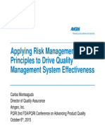 03 Monteagudo How Quality Risk Management Can Enable a More Effective Pharmaceutical Quality Final
