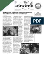 BikeSonoma Newsletter, 6, Sonoma County Bicycle Coalition