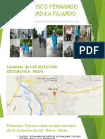 Francisco Fernando Ardila Fajardo Inclusion Social