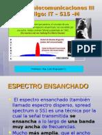 Curso Telecom III 2014 Espectro Ensanchado
