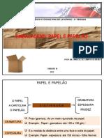 Aula 4 - Embalagens - Papel e Papelão