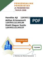 Bab 13- Sistem Pengendalian Intern Pemerintah