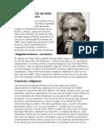 Pensamientos de Pepe Mujica