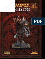 Warhammer Chronicles 2003
