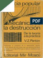 Mecanica de La Destruccion