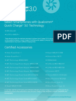 Quick Charge Device List