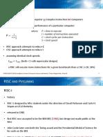 3 RISC + pipelines