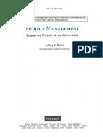 Jeffrey k.pinto Achieving Competitive Advantage 3rd Edition