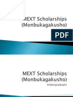 MEXT Scholarships Final