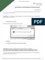 Erro Falha Ao Inicializar Dll Para Geração Do Arquivo Em PDF