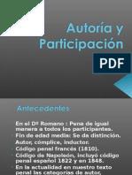 Autoría y Participación DIAPOSITIVAS UNPRG