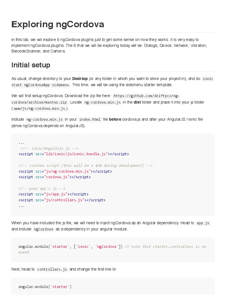 Lab7 Exploring Ngcordovapdf Angular Js Barcode