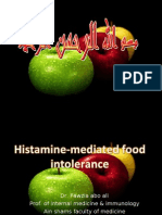 Histamine Mediated Food Intlerance