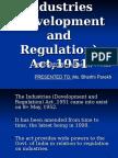 industrial development and regulation act