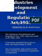 industrial development and regulation act