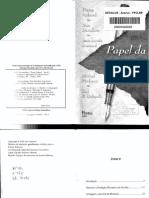 ACHARD, Pierre (Org.) Papel Da Memória