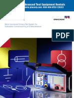 Omicron CPC 100 Brochure