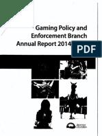 GPEB Annual Report 2014-2015