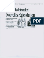 Prix de Transfert Nouvelles Regles Du Jeu