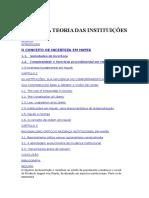 Hayek e a Teoria Das Instituições -( Eduardo Angeli)
