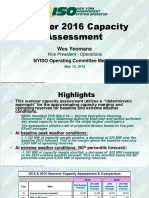 NYISO Summer Capacity Assessment Final