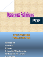 Operaciones Preliminares