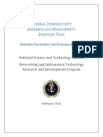 2016 Federal Cybersecurity Research and Development Strategic Plan