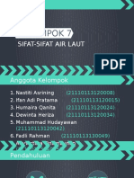Sifat Air Laut