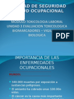 Módulo III Toxicologia Laboral