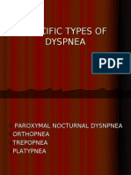 Specific Types of Dysnpea