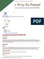 Les Protocoles de Messagerie POP, IMAP Et SMTP _ Le Blog de PEEXEL