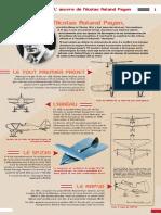 Exposition Nicolas Roland Payen Createur d Avions a Aile Delta - Par Pierre Gaillard
