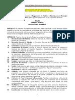 Reglemento de Transito de Ciudad Juárez