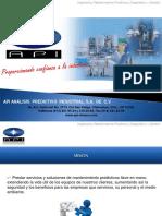 Presentacion API Analisis Predictivo Industrial Sa de Cv 2014