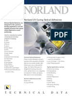 Norland Optical Adhesives Selection Guide