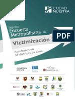 Lima-Encuesta de Victimizacion de Ciudad Nuestra 2012