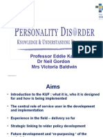 Personality Disorder Knowledge and Understanding Framework (KUF)