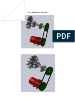 Motor cantiliber