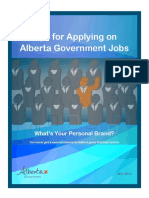 Tips for Applying on Alberta Government Jobs